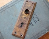 Door Knob Plate for Assemblage