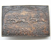 Kentucky Derby - Vintage Belt Buckle
