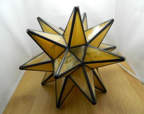 Reserved Moravian Star Accent Table Lamp Or Nigh Light