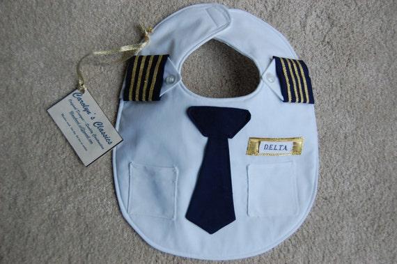 Airline Pilot Bib