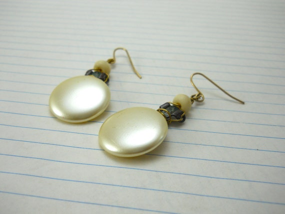 clip-on vintage earrings, reinvented: like Grandma's, only comfortable