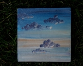 Dune Clouds - Original Oil Painting