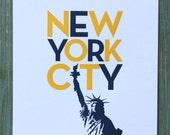 Lady Liberty Yellow