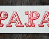 PAPA Card