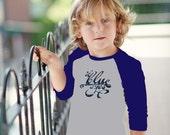 Ol' Blue Eyes Kid Tee Baseball Shirt
