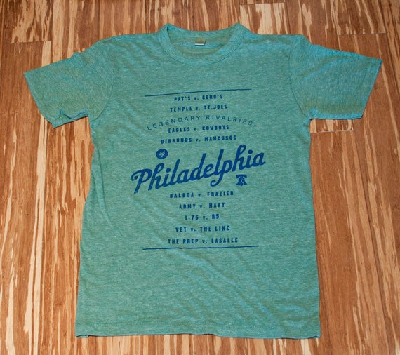 Philly Rivalries Adult Tee in Green