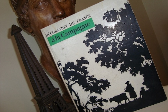 Vintage Country French Decorating Coffee Table Book
