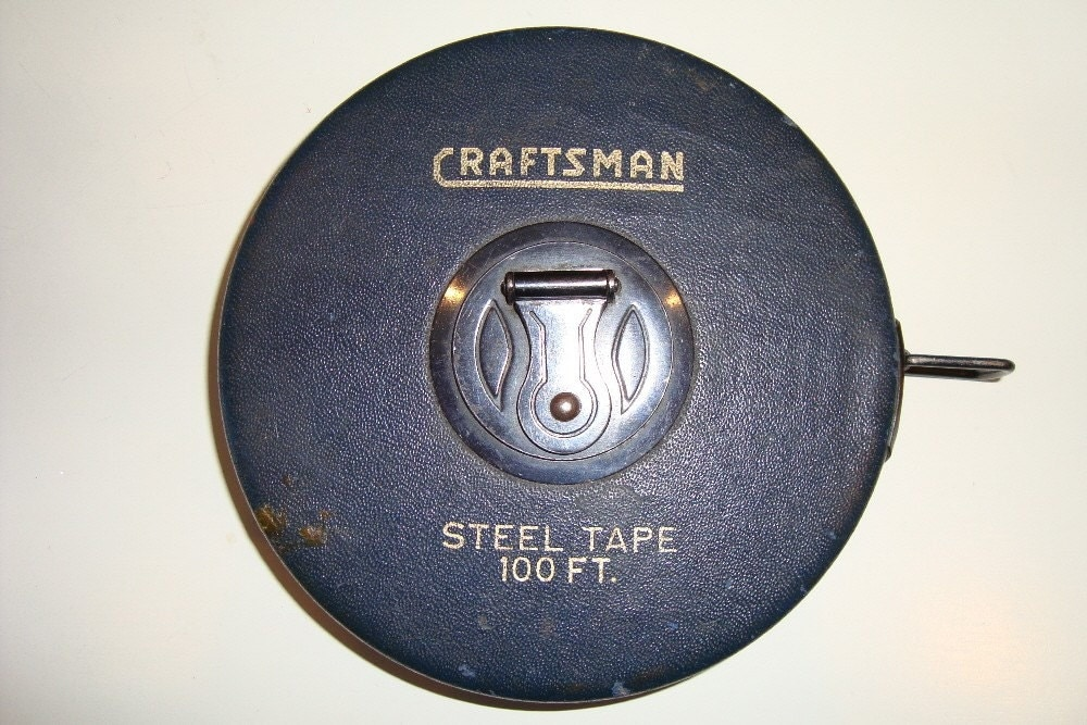 Vintage Craftsman 100 Ft Tape Measure
