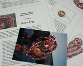 """Tutorial for the """"Bollywood Bling"""" Ruffle Cuff"""