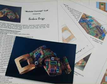"Tutorial for the ""Modular Concept"" Cuff"