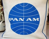 Vintage Pan Am Airlines Tote Bag