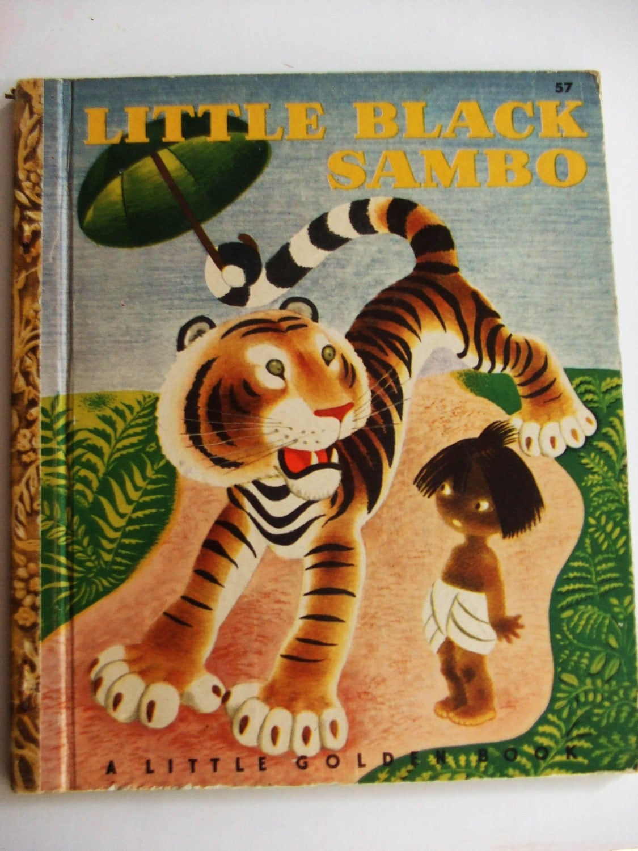 Vintage collectible 1948 little black sambo book by mychicretreat