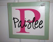 Hanging Name Boards - great for KIDS - in vinyl lettering