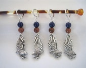 RAVENCLAW RADIANCE knitting stitch markers set of 4 - Harry Potter Inspired