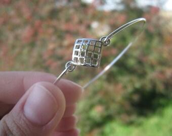 CHECKERBOARD bangle bracelet