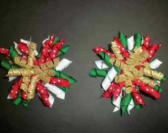 "Christmas korkers ""Little Elf"", pair of 4 inch korkers"