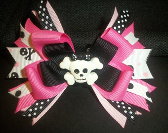 Pirate boutique hairbow