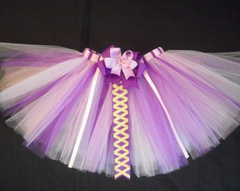 Rapunzel tutu, princess rapunzel tangled inspired tutu custom made sizes Newborn-4t