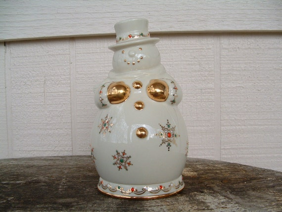 Collectible Lenox Jewel Collection Snowman