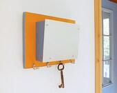 CLEMENTINE: wall mount iphone wallet storage pocket keys