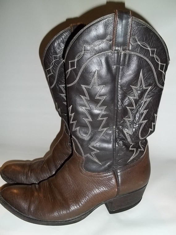 items similar to vintage cowboy boots chion custom made