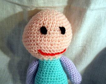 Doll, crochet, non-gender