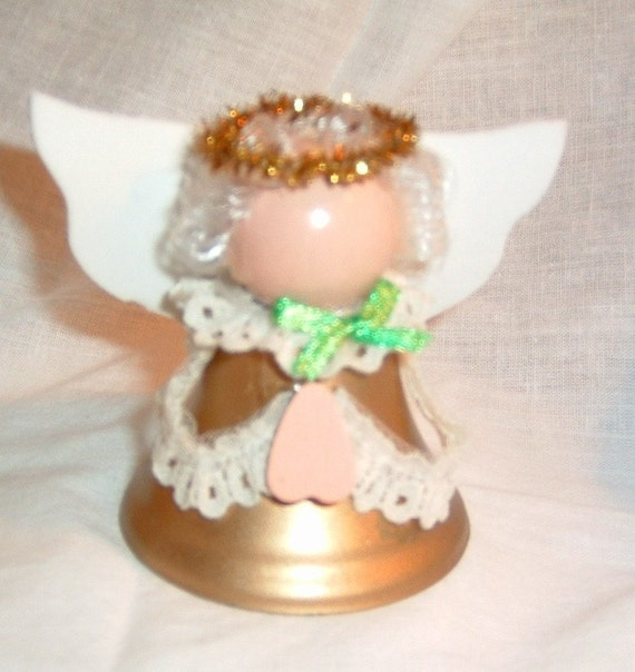 Items similar to angel bell shape decoration on etsy