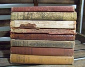 Antique School Books 1884 - 1926  Arithmetic, Spelling, Geometry, Practical English