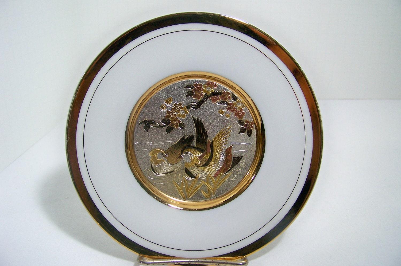 Chokin Plate Art Of Chokin Collectible