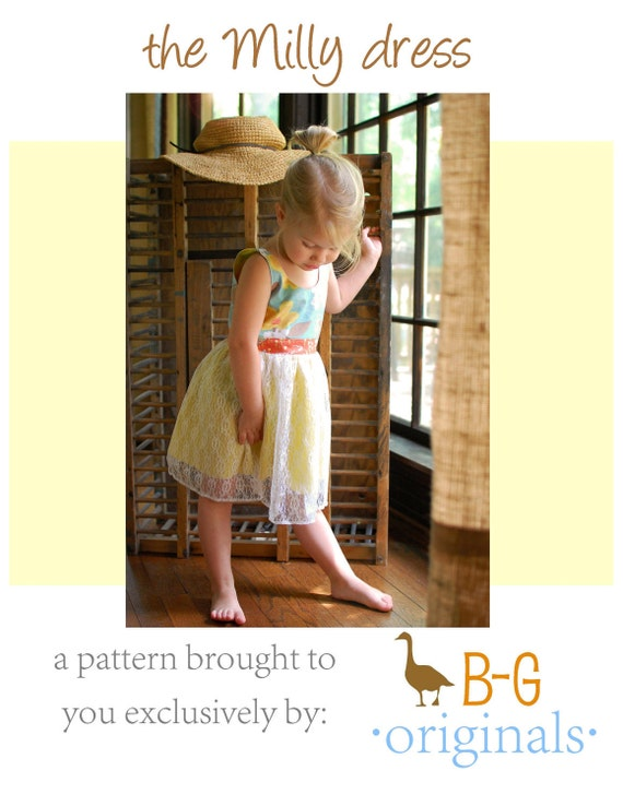 BG Original - The Milly Dress pdf pattern