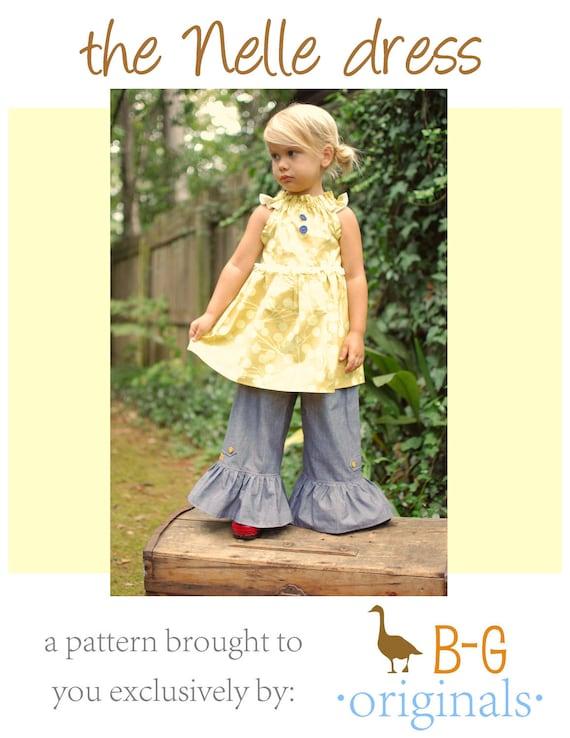 BG Original The Nelle dress pdf pattern