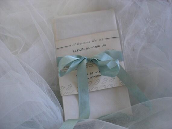 RESERVED FOR CAROLYN ... Vintage Vellum Postage  Envelopes (total  300)