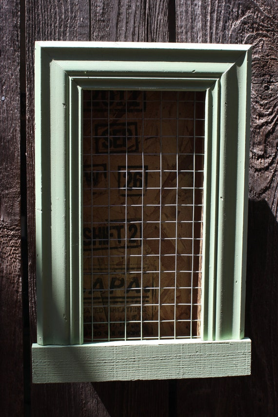 Custom Vertical Wall Succulent Planter Box with Trim Frame for Christmas