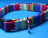 Bright Fun StripeExtra Small Dog Collar