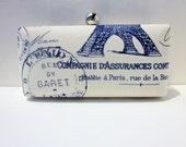 clutch purse/French stamp clutch/bridesmaid clutch/minaudiere/