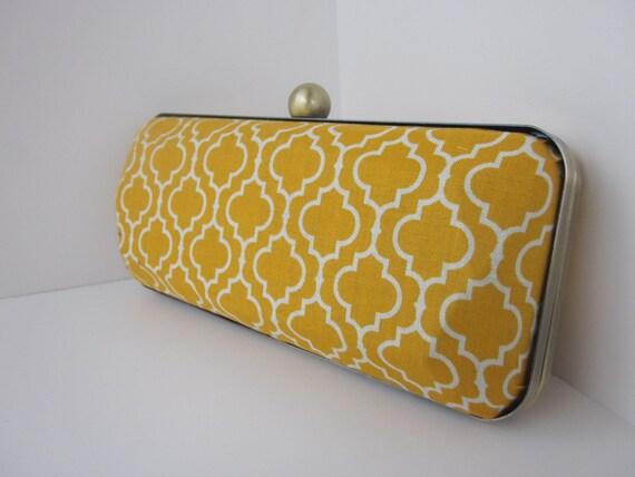fabric clutch purse/Bridesmaid Clutch/minaudiere/Spring wedding/Spring Fashion