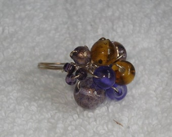 Petrified purple ring