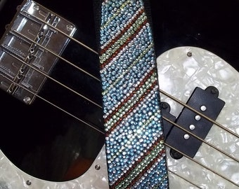 Sharp Dressed Man guitar strap