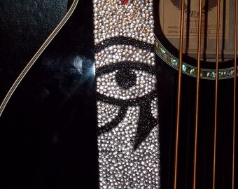 Eye in the Sky guitar strap
