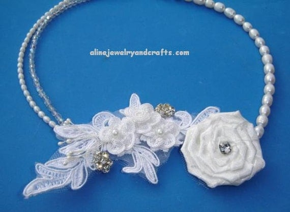 Freshwater Pearl  Bridal Necklace W301
