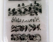 Grass borders - FLONZ clear stamps - set 2
