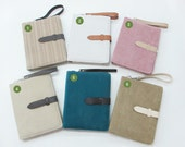 Velvet Ipad Bag ( the new iPad - iPad 2 - iPad 1) -Card holder- Stationary Office