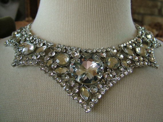 Art deco styled rhinestone costume jewelry by for Art deco costume jewelry