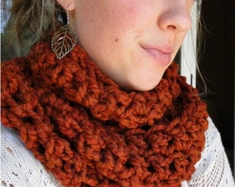 """PATTERN download PDF cowl scarf  """"Wrap Your Arms Around Me Cowl"""""""