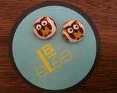 CHI OMEGA Owls You'll love these cute owl earrings.