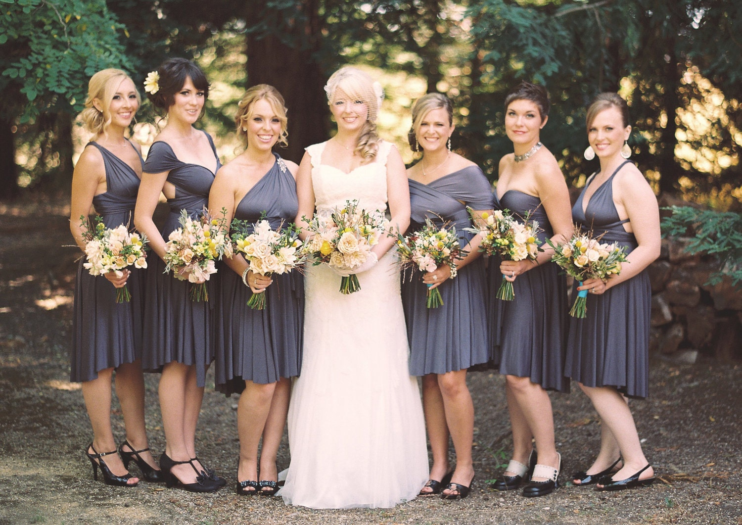Bridesmaid dress grey vosoi collection of gray bridesmaid dresses 35 best grey bridesmaid ombrellifo Image collections