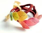 Autumnal Set of three bangles
