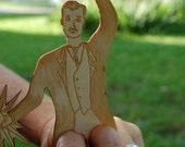 Nikola Tesla Finger Puppet