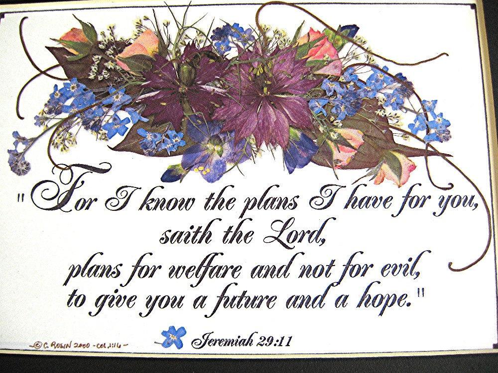 Christian Art BIBLE Verse Art Encouragement Future Christian Gift ...