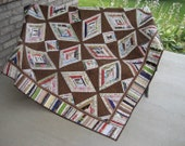 All Tied Up Lap Quilt